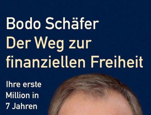 """Buchtipp: """"Der Weg zur finanziellen Freiheit"""" von Bodo Schäfer"""