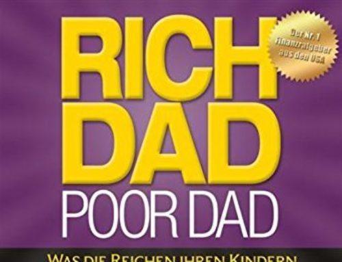 """Buchtipp: """"Rich Dad Poor Dad"""" von Robert Kiyosaki"""