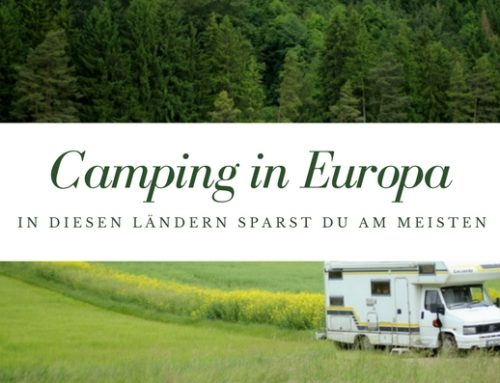Die besten Campingländer in Europa: In diesen Ländern sparst du am meisten